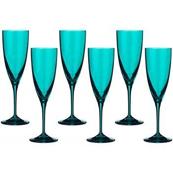 Набор бокалов для шампанского из 6 шт. kate 220 ...