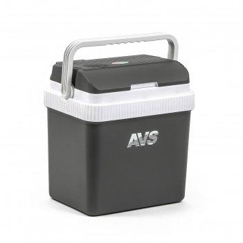 Холодильник автомобильный с функцией подогрева avs cc-24nb, 24 л, 12 в/220