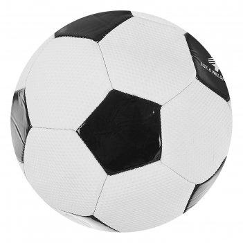 Мяч футбольный, машинная сшивка, pvc, размер 4, 290 г