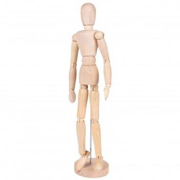Деревянная фигура гибкая, женщина, высота 30 см brauberg