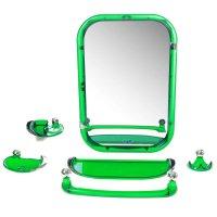 Набор для ванной комнаты вива стиль, зеленый