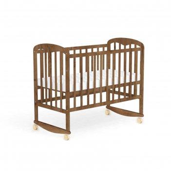 Кроватка детская «фея 323» табачный дуб