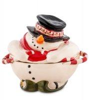 Bs-513 конфетница снеговик (pavone)