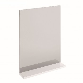 Зеркало cersanit melar 50, с полочкой, без подсветки, цвет белый