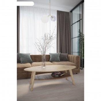 Стол журнальный «серфинг», 1200 x 580 x 376 мм, цвет дуб сонома / акация