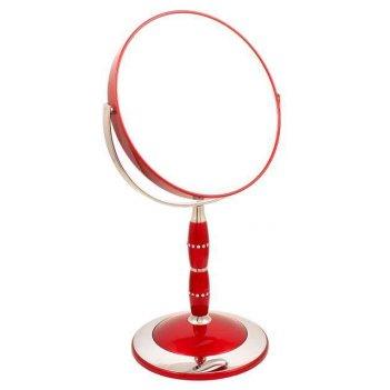 Зеркало b7 8088 ruby/c red наст. кругл. 2-стор. 5-кр.ув.18 с
