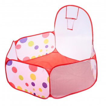 Палатка детская игровая - сухой бассейн для шариков шарики