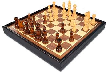 Шахматы craftsman deluxe, 35,3х35,3х6 см classic gf022