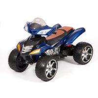 Электро квадроцикл barty  quad pro (м007мр) (синий)