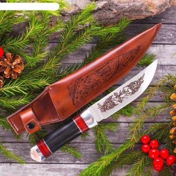 Сувенирный нож охота.олень.