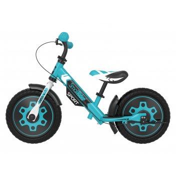 Беговел с 2 тормозами small rider roadster sport 4 eva (аква)