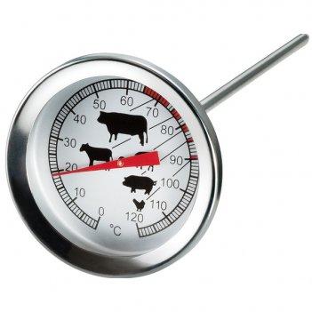 Термометр круглый для мяса moha 5х11см, сталь нержавеющая