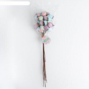 Букет из хлопка «воздушное конфети»