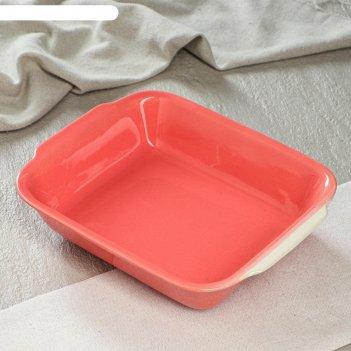 Форма для запекания фламинго, розовая, 720 мл