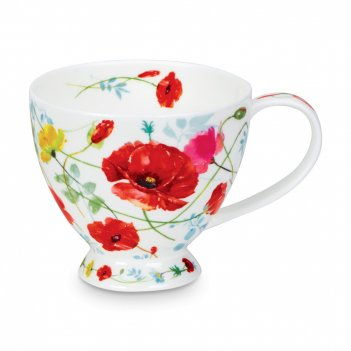 Чашка чайная «дикий сад скай», объем: 450 мл, материал: костяной фарфор, д