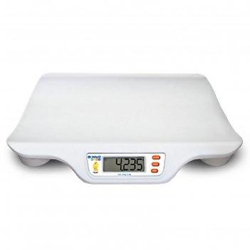 Весы напольные b.well wk-160, электронные, до 20 кг, детские, белые