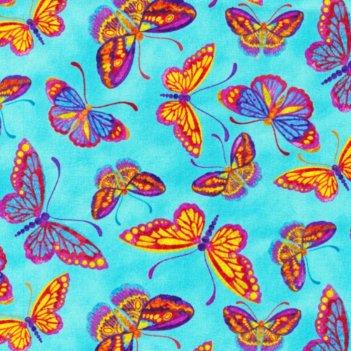"""Ткань """"бабочки"""""""