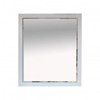 Зеркало анна - 80 белая матовая эмаль