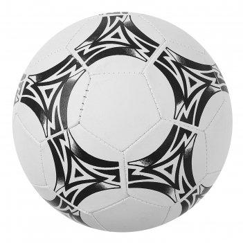 Мяч футбольный, размер 5, 32 панели, 2 подслоя, pvc, машинная сшивка, 200