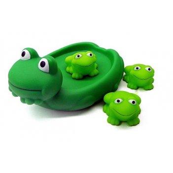 Пвх  лягушка с лягушатами