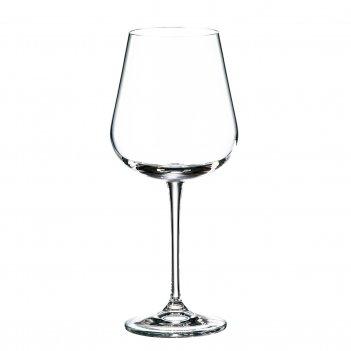 Набор бокалов для вина crystalite bohemia ardea/amundsen 540 мл (6 шт)
