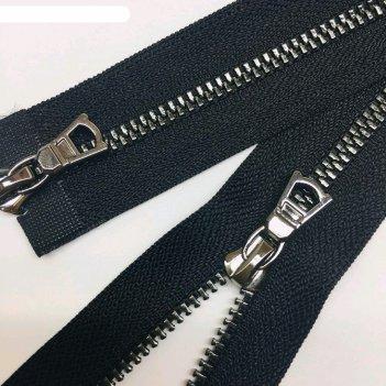 Молния для одежды, №3тт, 100 см, цвет чёрный