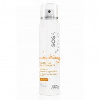 Масло сухое для увлажнения волос shot sos   protection, с аргановым маслом