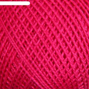 Нитки вязальные ирис 150м/25гр 100% мерсеризованный хлопок цвет 1112