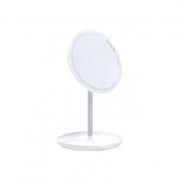 Зеркало gezatone lm207, подсветка, 35 x 18 x 4,5 см, акб, usb