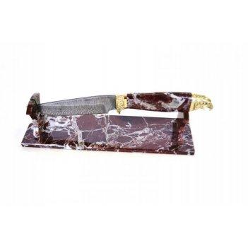 Нож из дамасской стали ручной работы