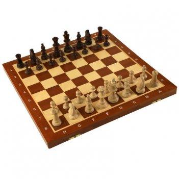 Шахматы торнамент 4, шахматная доска в коробке, wegiel