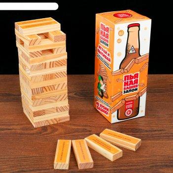 Игра пьяная башня. запой