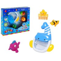 Игрушка для ванной веселая рыбалка с рыбкой