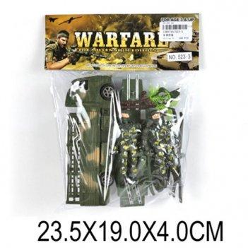 Набор военный, солдаты, техника