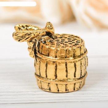 Напёрсток сувенирный «башкортостан», золото