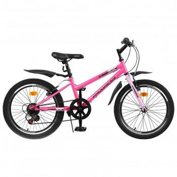 Велосипед 20 progress модель indy low rus, цвет розовый, размер 10.5