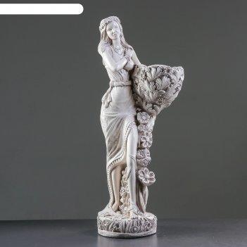 Садовая фигура лесная фея состаренная, 85см