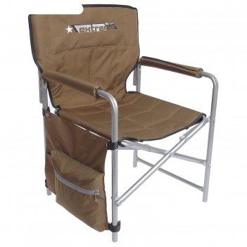 Кресло складное, размер 490х490х720 мм, цвет хаки  кс1