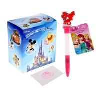 Мыльные пузыри ручка с печатью и светом королевские питомцы, 10мл + игрушк