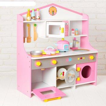 Игровой набор универсальная кухня, посудка в наборе