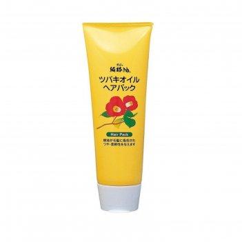 Маска для восстановления поврежденных волос kurobara tsubaki oil с маслом