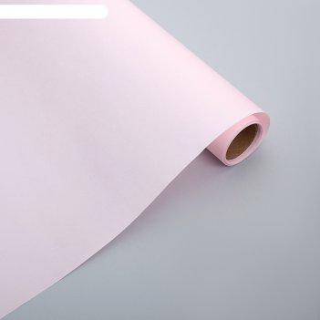 Фетр ламинированный, розовый, 0,6 х 5 м