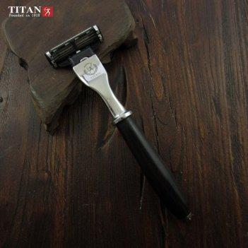 Бритвенный станок titan 1918 черное дерево мадагаскар