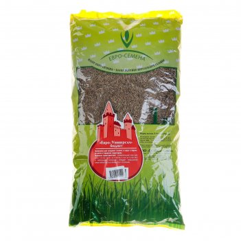 Семена газонная травосмесь евро-универсал-бюджет, 1 кг