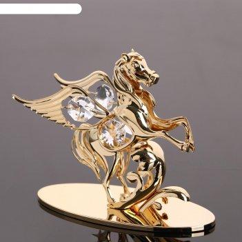 Сувенир пегас,  с кристаллами сваровски