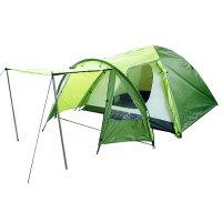 Палатка туристическая dakar 3 х-местная, ткань рипстоп