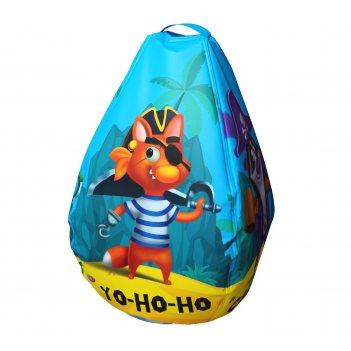 Мешок-рюкзак-подушка, спинка для тюбингов st4, small rider bags пираты (го
