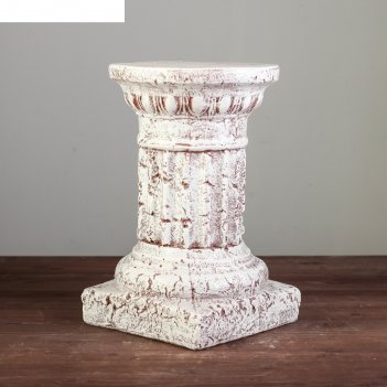 Колонна рим№1 мрамор песочный 33см