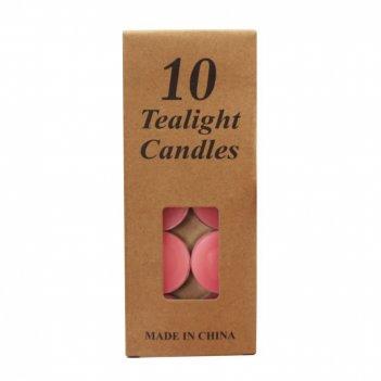 Свеча, набор из 10-ти шт, d3 см
