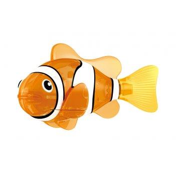 Светодиодная роборыбка красная сирена лицензия от robofish zuru